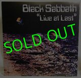 BLACK SABBATH/ Live at Last [LP]