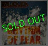 M.O.D./ Rhythm of Fear [LP]