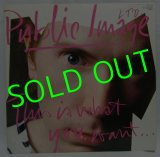 PUBLIC IMAGE LIMITED/ This is What You Want... [LP]
