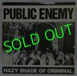 """PUBLIC ENEMY/ Hazy Shade of Criminal [12""""]"""