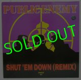 PUBLIC ENEMY/ Shut'em Down(Remix)[12'']