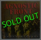 AGNOSTIC FRONT/ Another Voice(Limited Red Vinyl Edition)[LP]