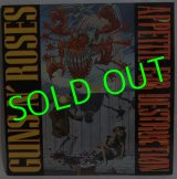 GUNS N' ROSES/ Appetite For Destruction(US org./Uncensored Cover)[LP]