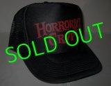 """HBC/""""BLOOD SUCKING Logo"""" Mesh Cap (Black/Red)"""