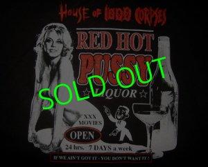 画像1: HOUSE OF 1000 CORPSES : Red Hot Pussy T-Shirt