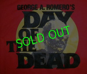 画像1: DAY OF THE DEAD : RED T-Shirt