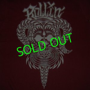 画像1: ☆50%OFF☆ROLLIN' The TOUR T-Shirt (Winered)