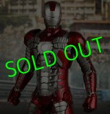 HOTTOYS/ MOVIE MASTERPIECE DELUXE 1/6 Figure/ IRONMAN2:IRONMAN MARK V