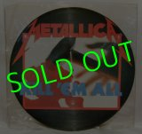 METALLICA/ Kill 'Em All(Picture Disc Edition) [LP]