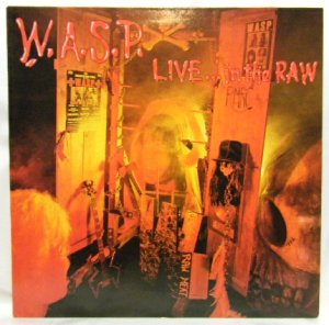 画像1: W.A.S.P./ LIVE...in the RAW [LP]