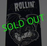 ★☆★SALE!!!★☆★ ROLLIN' Dragon TOWEL (Black)