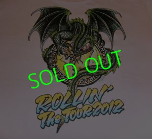 画像1: ★☆★SALE!!!★☆★ ROLLIN' Dragon T-Shirt (Baby Pink)