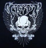 "HBC/""Wing Skull"" Tee (Black x Metalic Silver)"