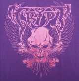 "HBC/""Wing Skull"" Tee (Purple x Metalic Pink)"