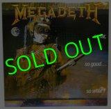MEGADETH/ So Far,So Good...So What! [LP]