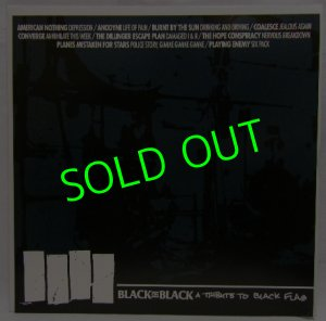 画像1: V.A./ Black on Black -A Tribute to BLACK FLAG [LP]
