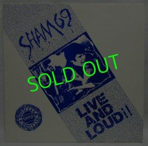 画像1: SHAM69/ Live and Loud!! [LP]