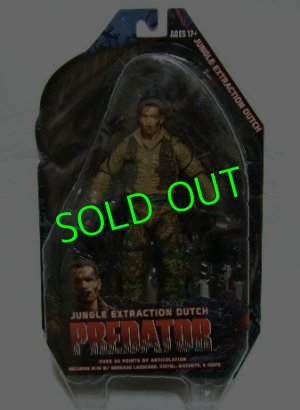 画像1: NECA/ PREDATORS/ Action Figure Series8/ JUNGLE EXTRACTION DUTCH