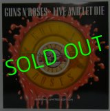 GUNS N' ROSES/ Live and Let Die(Limited Picture Edition)[12'']