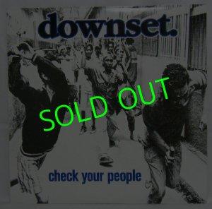 画像1: DOWNSET./ Check Your People[LP]