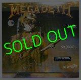 MEGADETH/ So Far,So Good...So What![LP]