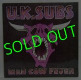U.K.SUBS/ Mad Cow Fever[LP]