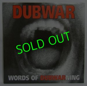 画像1: DUBWAR/ Words of Dubwarning[LP]