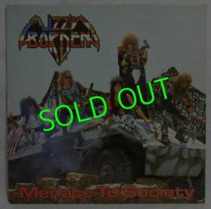画像1: LIZZY BORDEN/ Menace To Society[LP]
