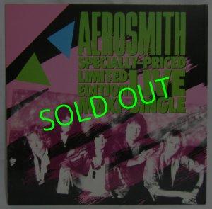 画像1: AEROSMITH/ Specially-Priced Limited Edition Live Maxi-Single[12'']