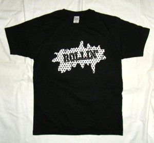 画像1: ROLLIN' Star Logo T-Shirt (Black)