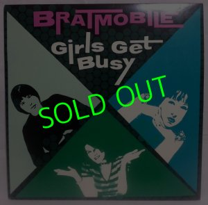 画像1: BRATMOBILE/ Girl Get Busy[LP]
