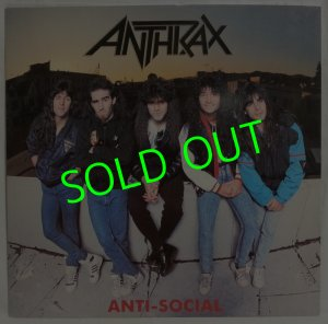 画像1: ANTHRAX/ Anti-Social[12'']