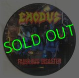 EXODUS/ Fabulous Disaster(Limited Picture Vinyl)[LP]