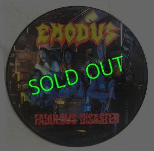 画像1: EXODUS/ Fabulous Disaster(Limited Picture Vinyl)[LP]