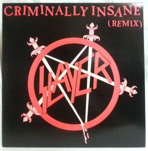 画像1: SLAYER/ Criminally Insane(Remix)[12'']