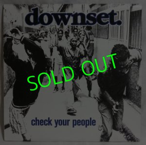 画像1: DOWNSET./ Check Your People[LP]