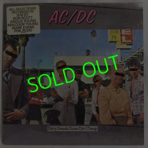 画像1: AC/DC/ Dirty Deeds Done Dirt Cheap[LP]