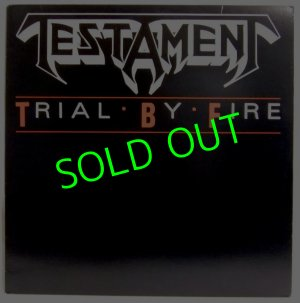 画像1: TESTAMENT/ Trial By Fire[12'']