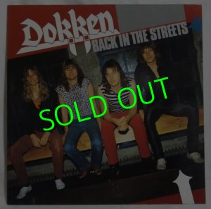 画像1: DOKKEN/ Back In The Streets(Limited Red Vinyl)[LP]