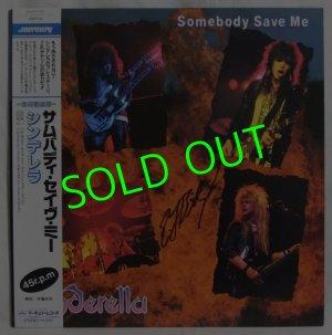 画像1: CINDERELLA/ Somebody Save Me[12'']