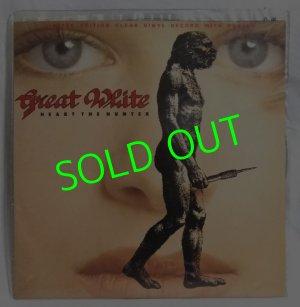 画像1: GREAT WHITE/ Heart The Hunter(Limited Clear Vinyl)[12'']