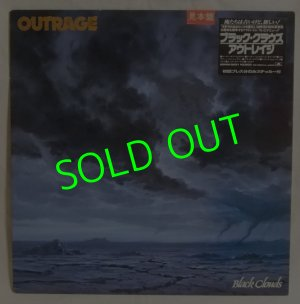 画像1: OUTRAGE/ Black Clouds[LP]