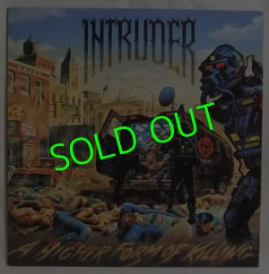 画像1: INTRUDER/ A Higher Form Of Killing[LP]
