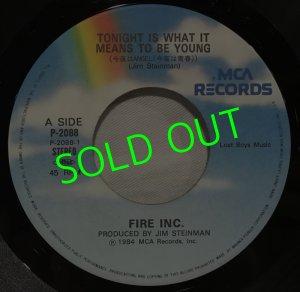 画像3: FIRE INC./ Tonight Is What It Means To Be Young[7'']