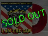 ANTHRAX/ I AM THE LAW(Limited Clear Red Vinyl)[7'']