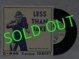 LESS THAN JAKE/ G-man Training Target/The Dukes Of Hazzard[7'']