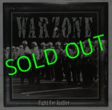WARZONE/ Fight For Justice[LP]