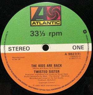 画像2: TWISTED SISTER/ The Kids Are Back[12'']
