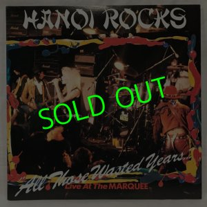 画像1: HANOI ROCKS/ All Those Wasted Years…[2LP]