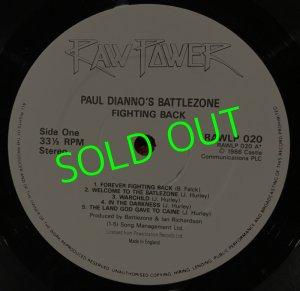 画像3: PAUL DI'ANNO'S BATTLEZONE/ Fighting Back[LP]
